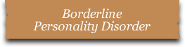Borderline Personality Disorder Therapy, Counseling